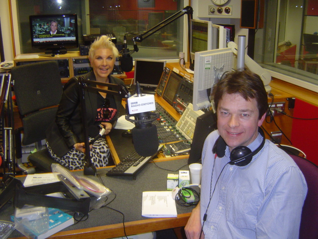 BBC Radio Oxford Kat Orman Show