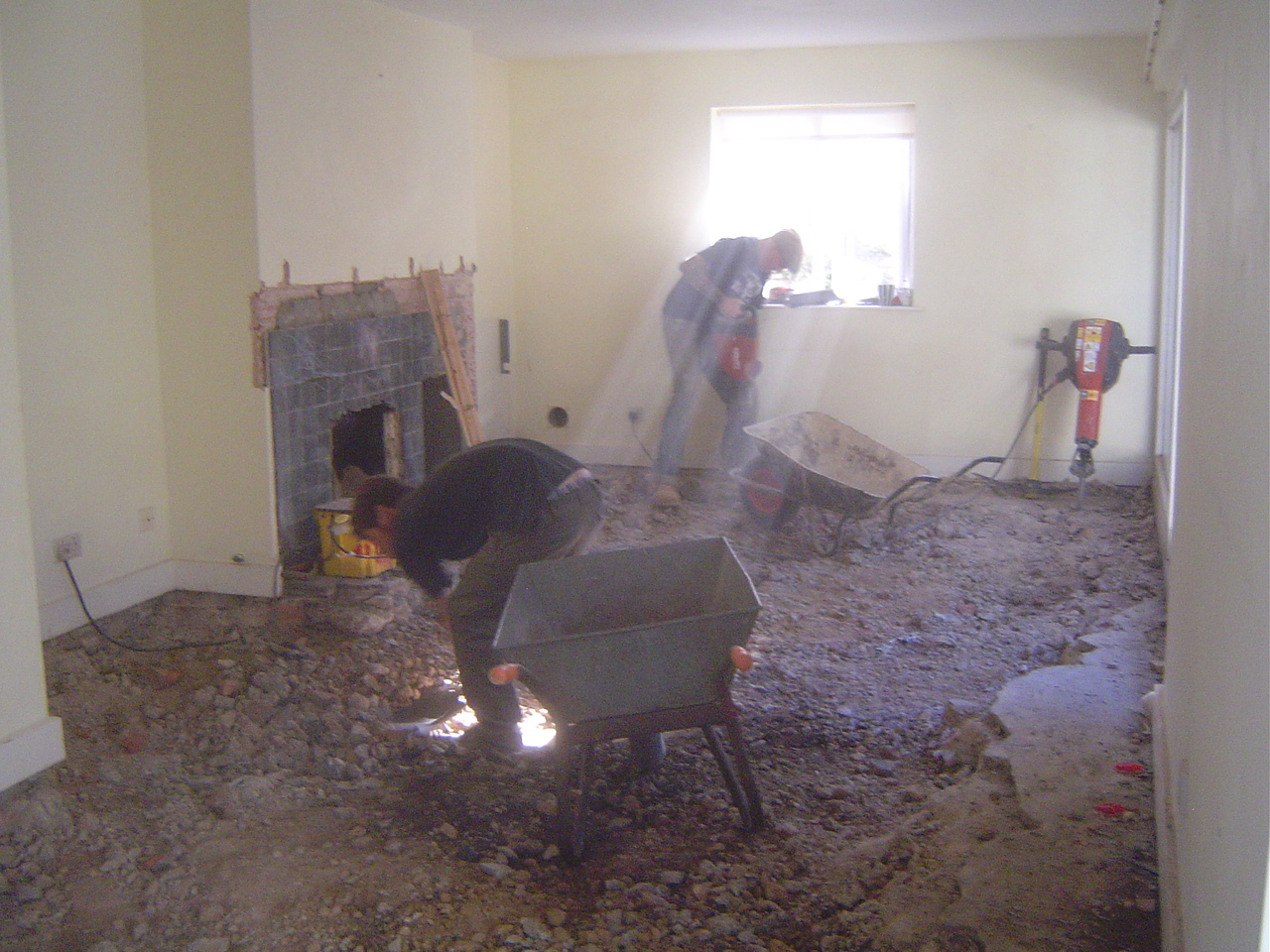 How Can I Super Insulate My Floor Part One Digging