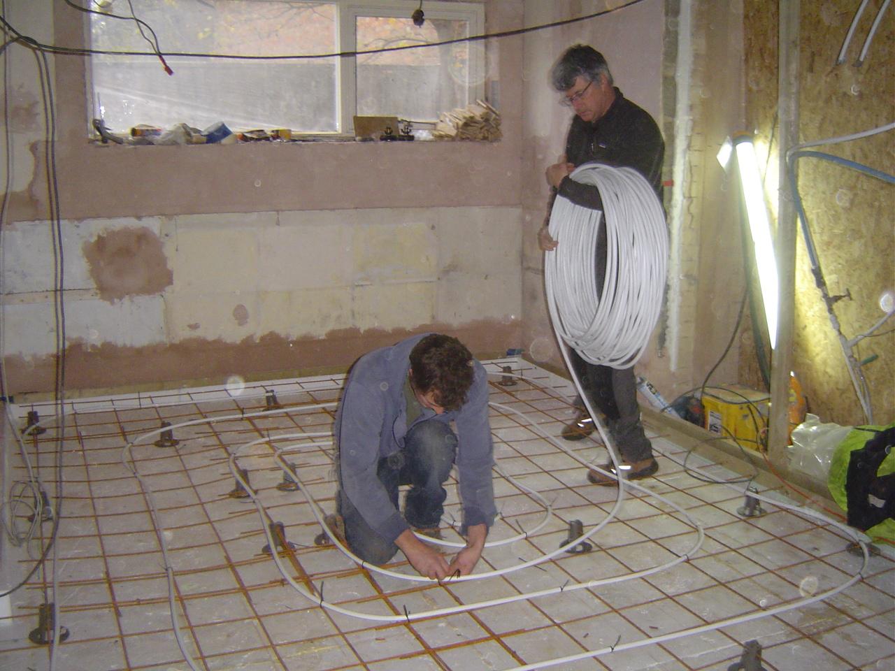 how can i super insulate my floor part four under floor. Black Bedroom Furniture Sets. Home Design Ideas